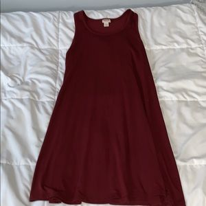 red t-shirt dress SIZE S!!